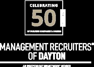MRI Dayton Anniversary Logo